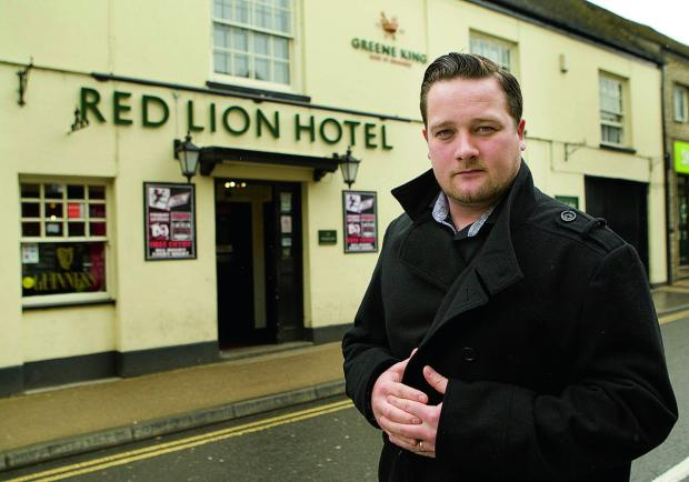 Witney pub landlord Tom Pauling has spoken about the violent attack early on Sunday that saw one of his customers taken to hospital           Picture: OX66927 Antony Moore