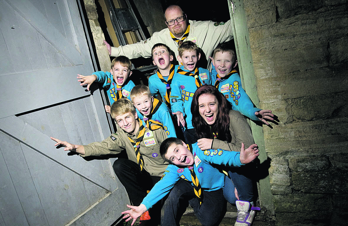 Scout leader given town's top honour