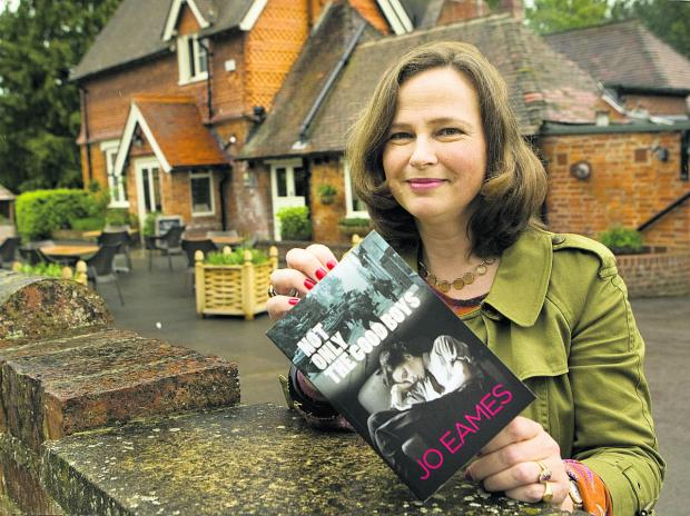 The Oxford Times: Jo Eames with her book, Not Only The Good Boys. Picture: OX67073 Antony Moore