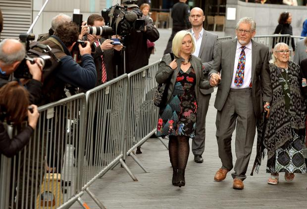 The Oxford Times: Rolf Harris guilty on sex charges