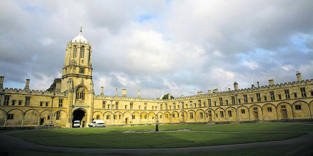 The Oxford Times: Man accused over Christ Chuch burglary