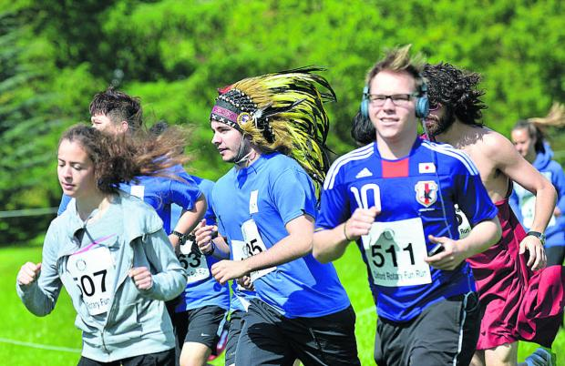 The Oxford Times: Fun runners at Oxford University Parks