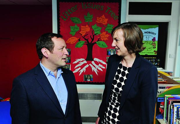 New head Jane Ratcliffe talks to Wantage MP Ed Vaizey