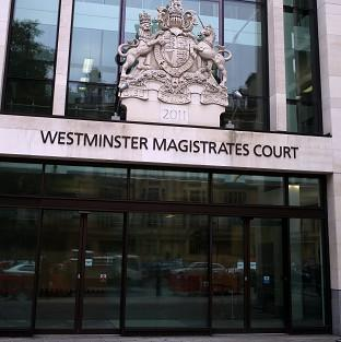 A judge at Westminster Magistrates' Court has spared a specialist police