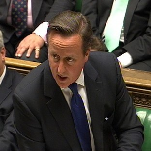 David Cameron has told the Commons that the Government met A&E targets during the winter months
