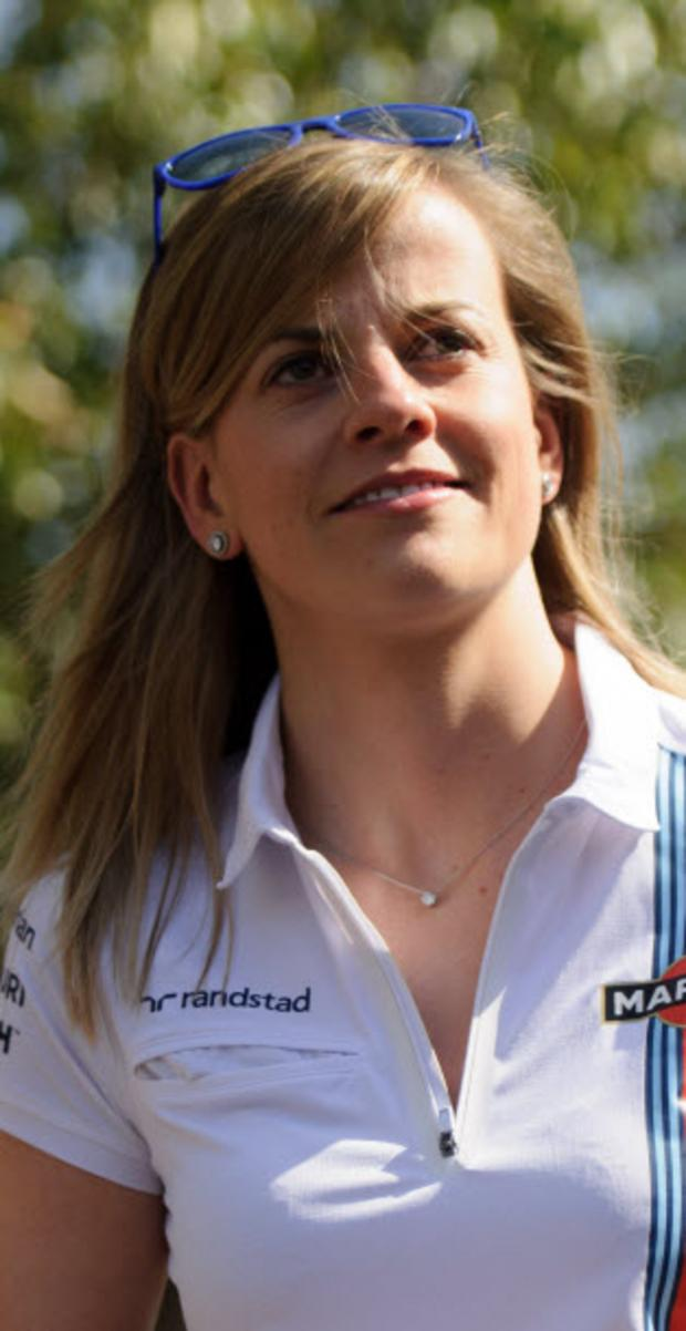 The Oxford Times: Susie Wolff