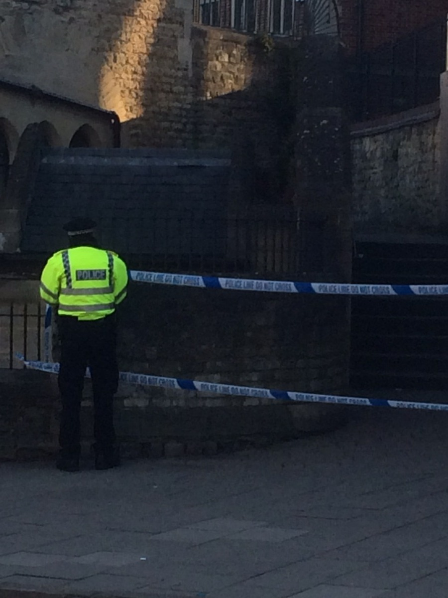 Update: Police close off two areas in Oxford after reports a woman was raped