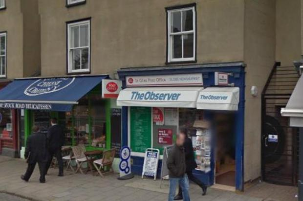 Man charged over raid on Post Office in Woodstock Road (Pic: Google Streetview)