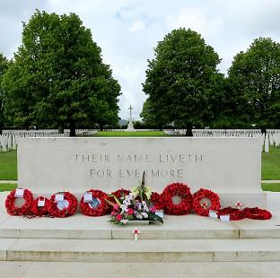 The Oxford Times: The Bayeux War Cemetery in Normandy, ahead of preparations to mark the 70th anniversary of the Normandy landings