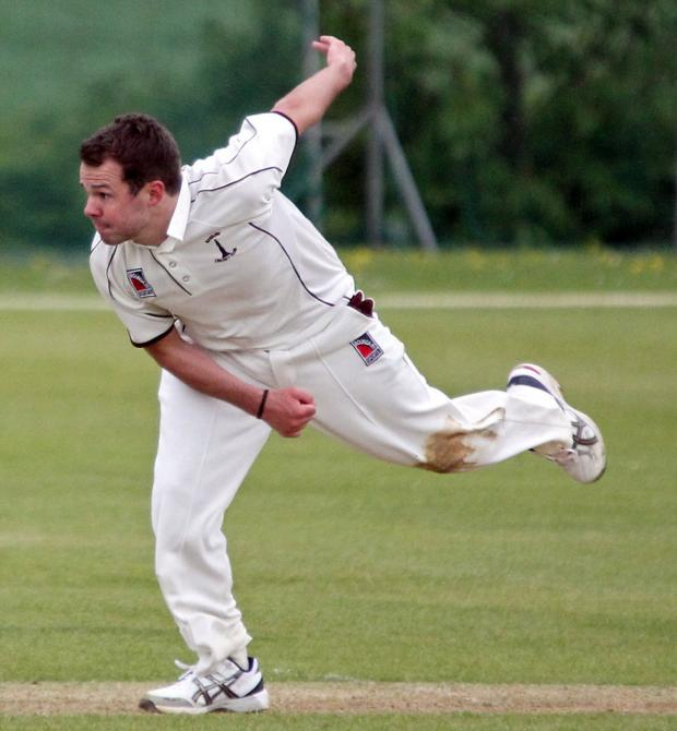 The Oxford Times: Ollie Wright sent Tiddington packing with figures of 5-37 for Banbury 2nd