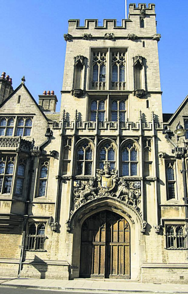 The Oxford Times: Brasenose College
