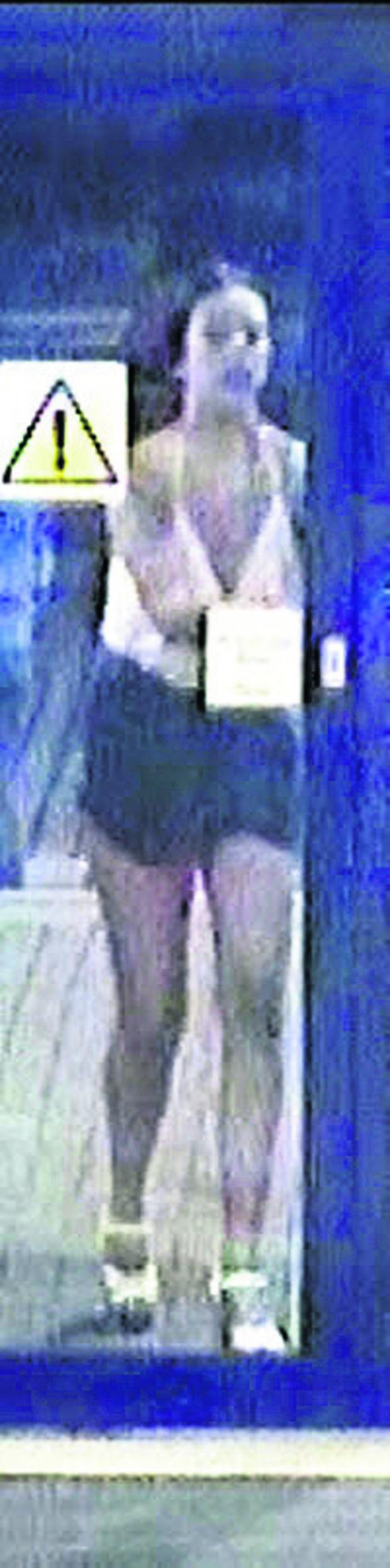 The Oxford Times: CCTV image of the woman British Transport Police want to talk to