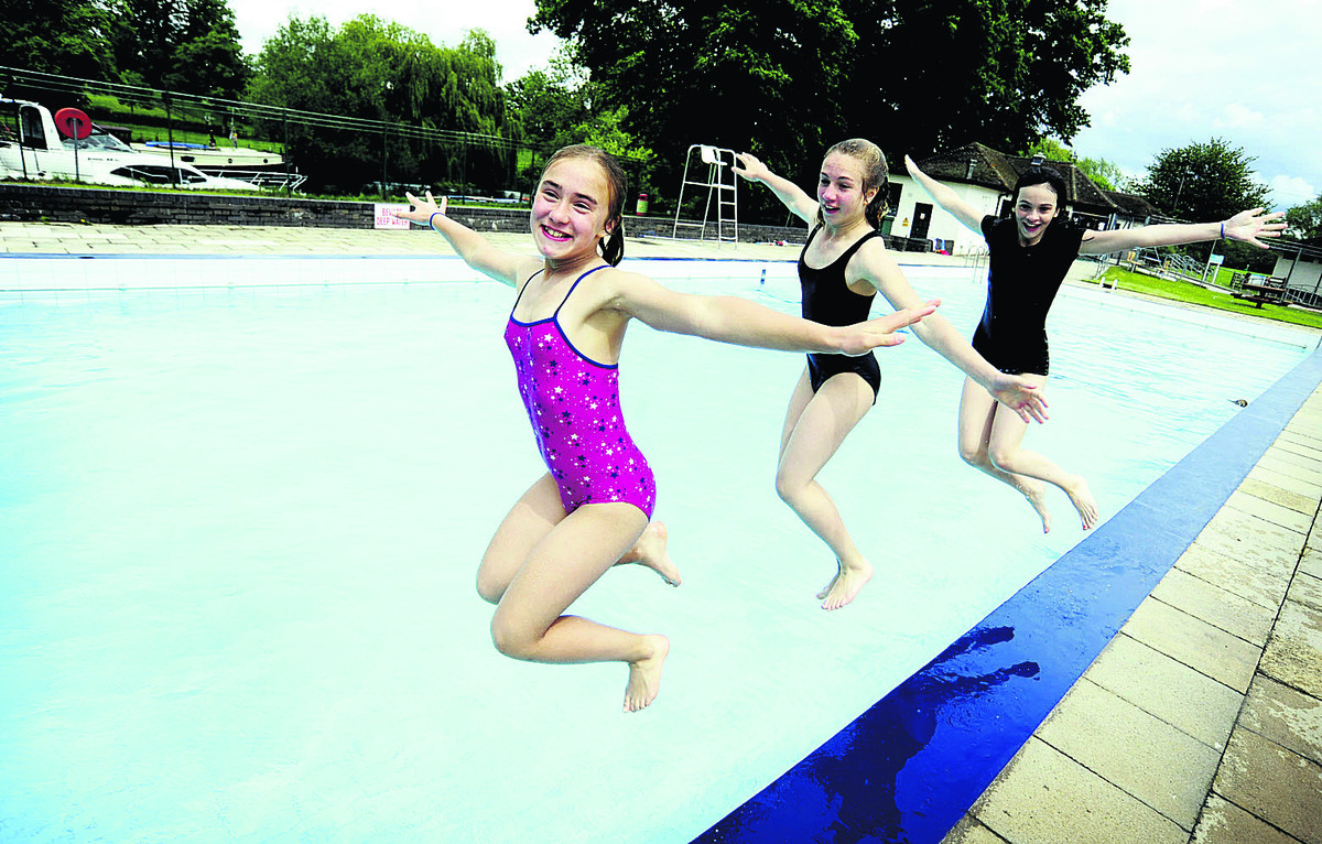 Making a splash as pool opens for summer time