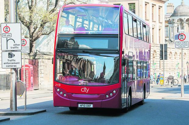 The Oxford Times: Buses will be diverted