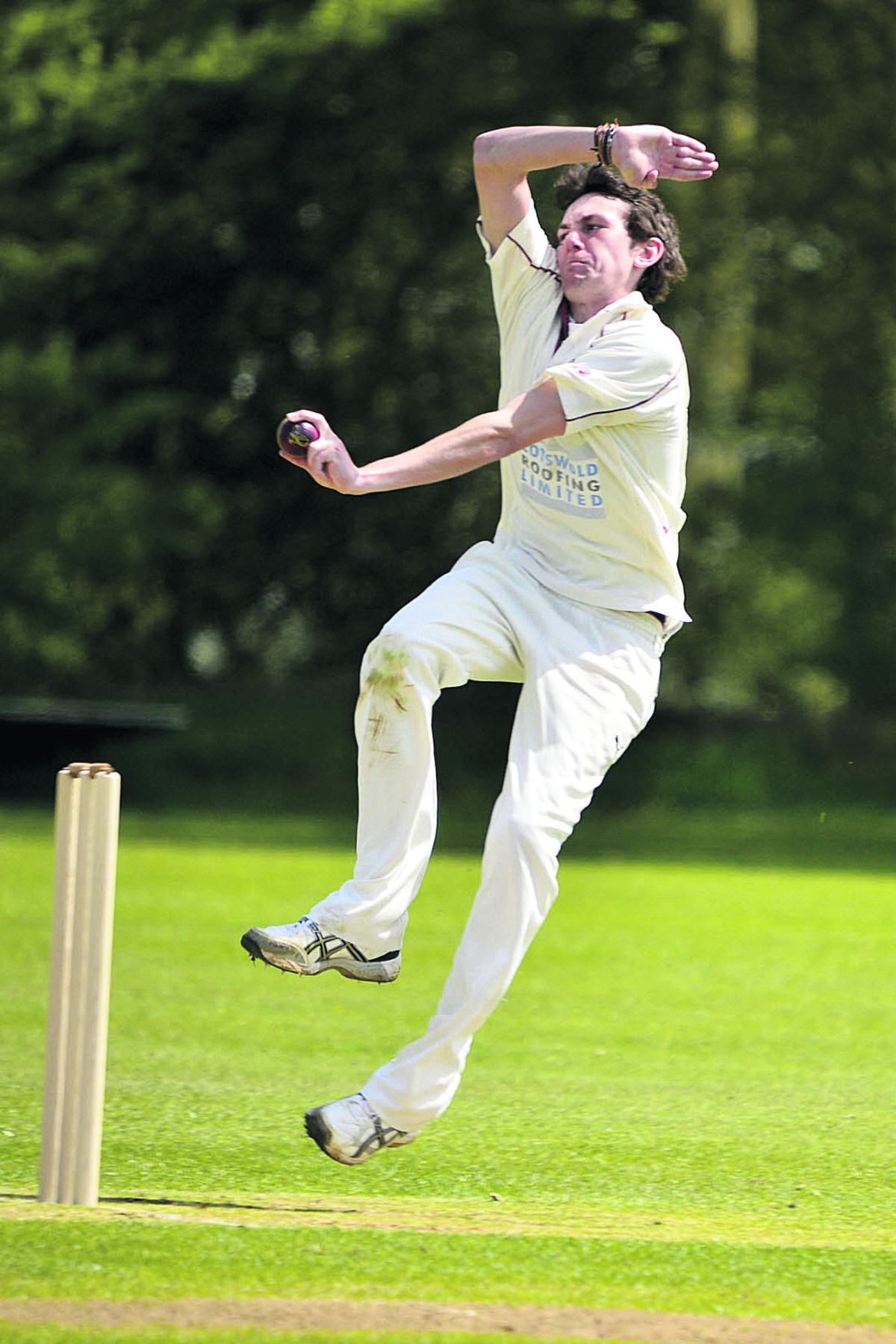 Lawrence Brock claimed figures of 4-13 in seven overs in Great & Little Tew's victory ov