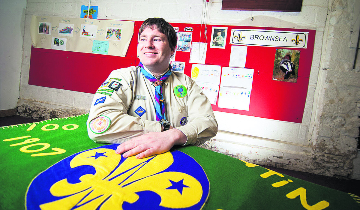 Brendan Cahill has been presented with The Queen's Scout Award, the highest honour in Scout