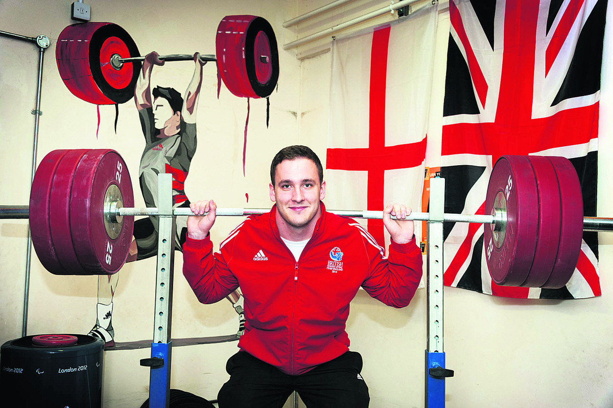 Didcot weightlifter Ben Watson is looking forward to competing for England in the Commonwealth Games in Glasgow