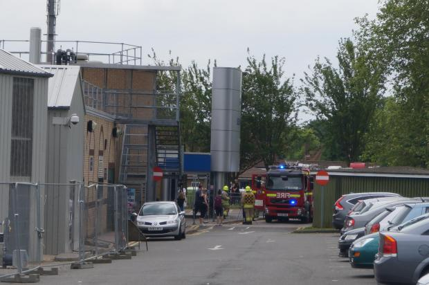 The Oxford Times: Bicester leisure centre evacuated after chlorine gas leak
