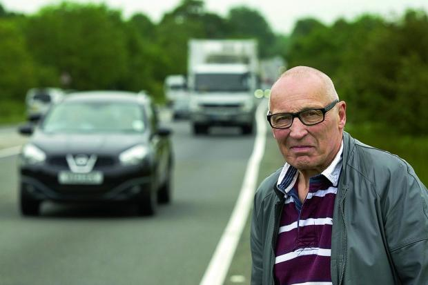Keith Slater, chairman of the Oxfordshire Town Chamber Network, says that congestion on the A40 can harm business prospects for Oxfordshire as a whole. Picture: OX67555 Antony Moore