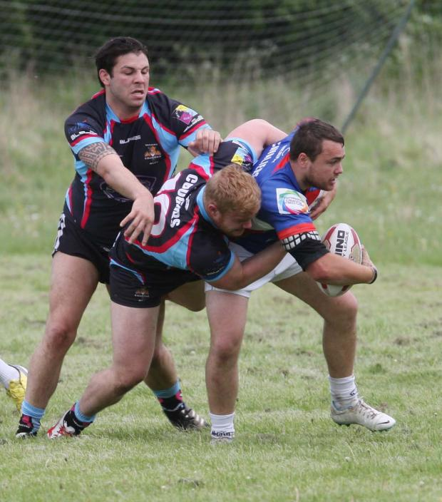 The Oxford Times: Wes Newton was among Oxford Cavaliers' try scorers