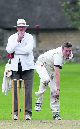 Minster Lovell's Elliot Graham took 5-36 against Shrivenham