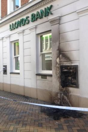Man charged after Banbury ATM 'arson attacks'