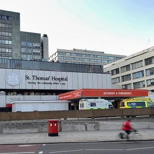 The baby was being treated in the neonatal intensive care unit at St Thomas' Hospital in London