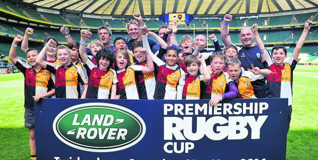 The Oxford Times: Oxford Harlequins Under 11s celebrate their day out at Twickenham