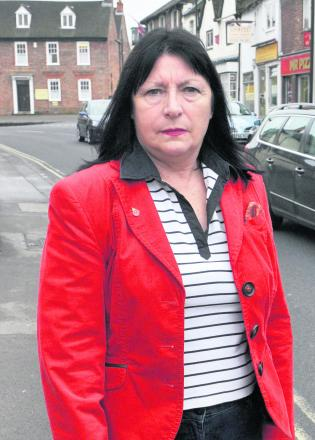Wantage town councillor Jenny Hannaby