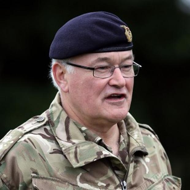 The Oxford Times: Head of the Army General Sir Peter Wall has warned against any more cuts