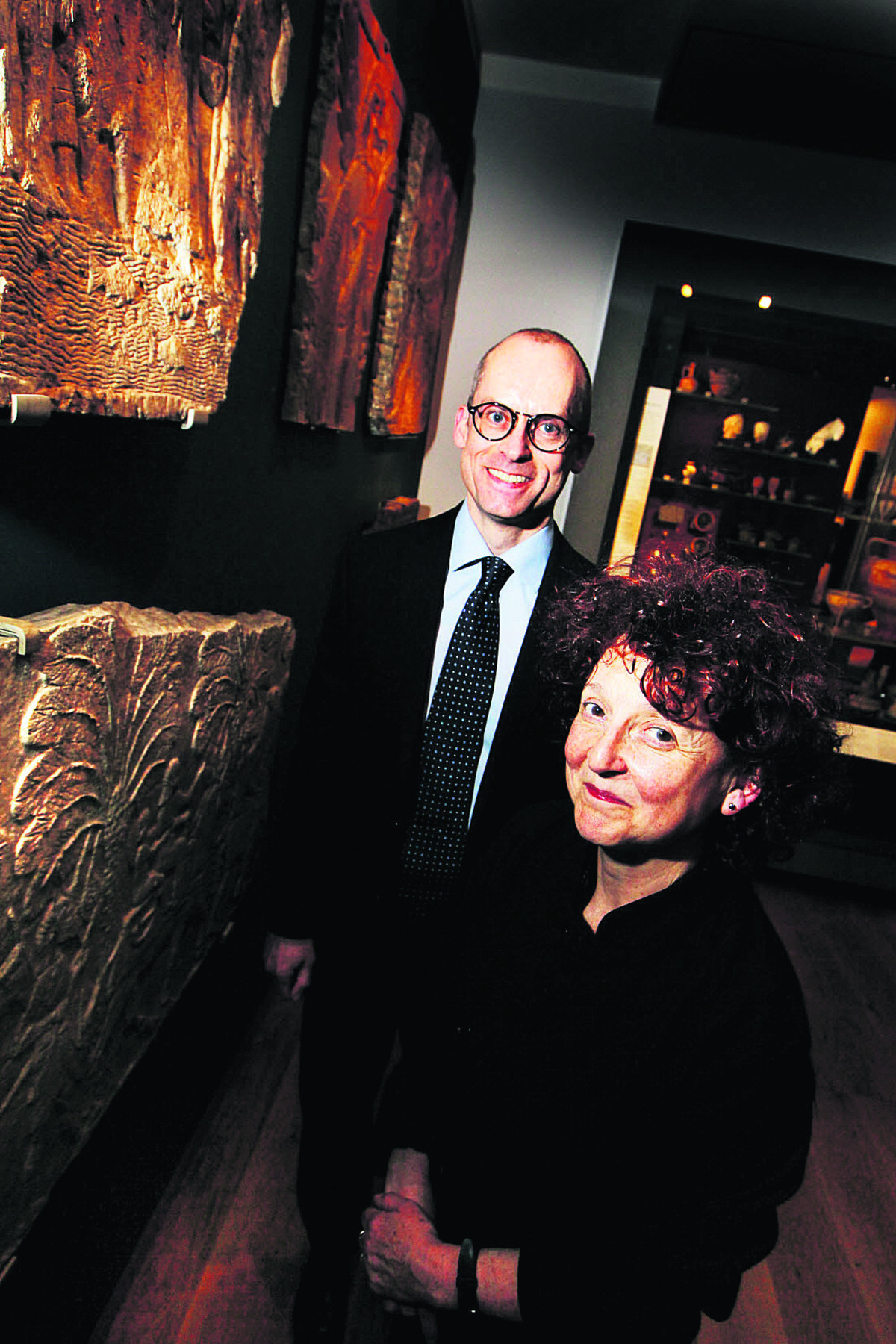 HIGHLIGHT: Dr Paul Collins and Dr Venetia Porter were among the speakers at the Ashmolean's special week of events themed around Syria