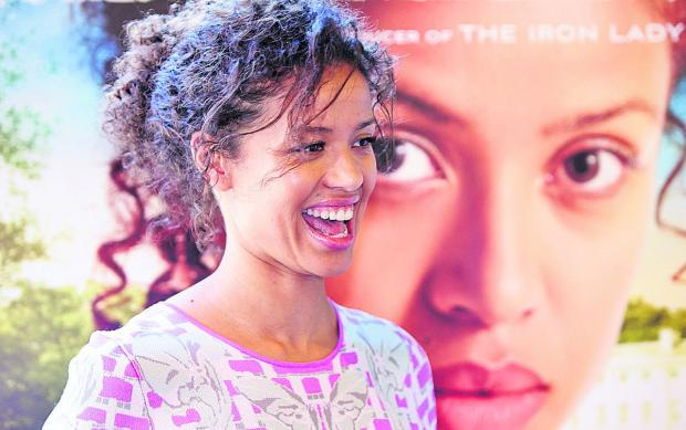 The Oxford Times: Gugu Mbatha-Raw at Cineworld in Witney for a special screening of her new film Belle on Saturday, which raised money for the Variety Club
