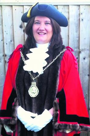 Councillor Jane Titchener, Wallingford Town Council Mayor