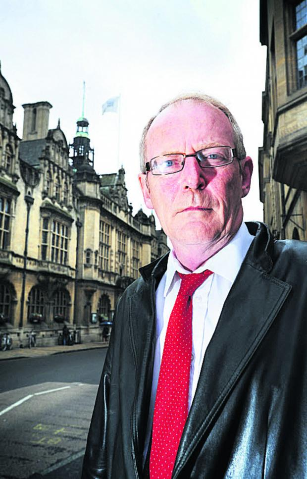 The Oxford Times: Oxfordshire County Council member for Northfield Brook Steve Curran