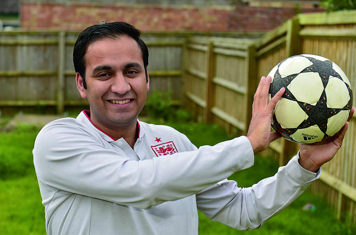 Organiser Shajaat Hussain of the Oxford Ambition Project which is running the tournament