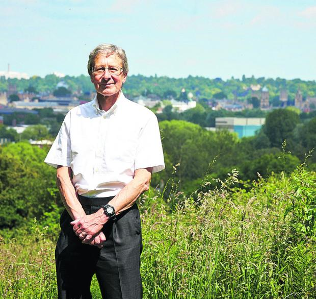 The Oxford Times: Bob Price, and the view of Oxford's dreaming spires from Raleigh Park, North Hinksey