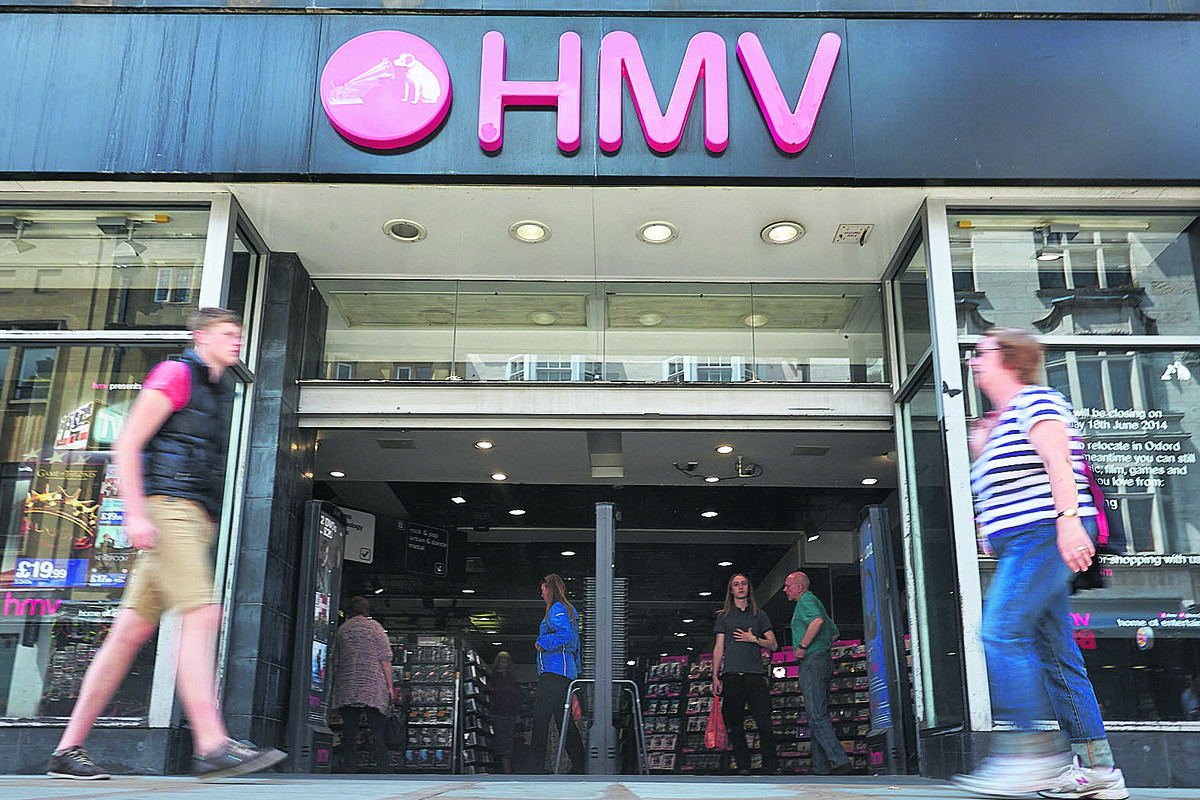 HMV shuts in face of cyber competition