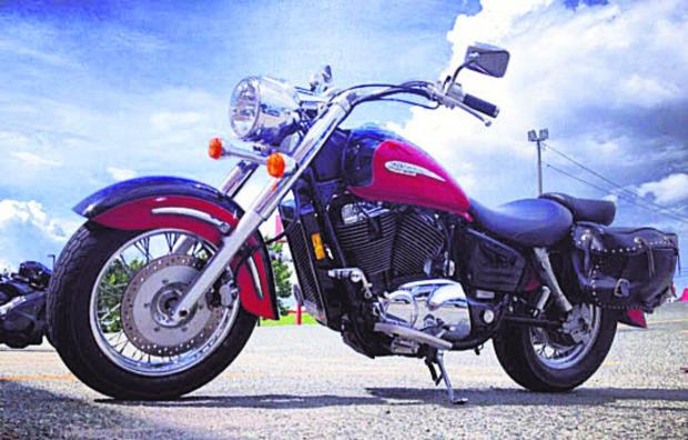 The Honda Shadow 1100
