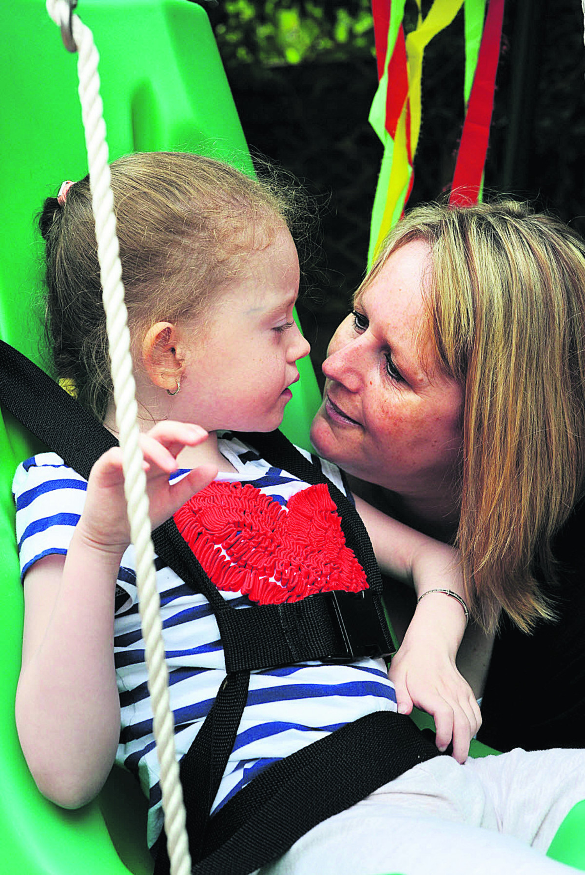 HELPING: Tara Docherty and her daughter Chanel Greenaway Picture: OX67988 Jon Lewis