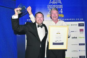 Oxfordshire Business Awards win boosts profile of Witney motorcycle accessories company