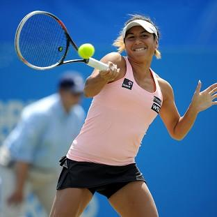 Heather Watson opens her Wimbledon campaign toda