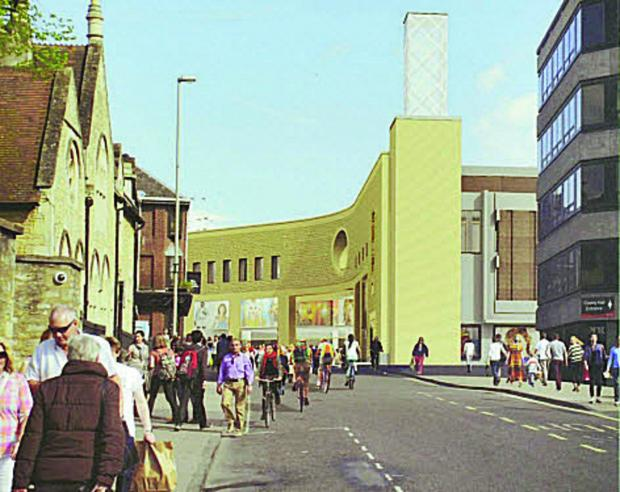 Artist's impression of what Westgate's exterior may look like