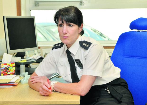 Chief Inspector Helen Roberts, deputy area commander for Cherwell and West Oxfordshire
