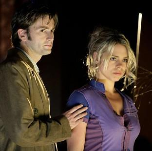 The Oxford Times: The scene which sees the Doctor say goodbye to companion Rose Tyler has topped a poll SFX magazine (BBC/PA)