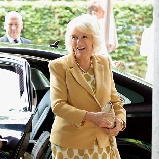 The Oxford Times: The Duchess of Cornwall left Wimbledon's Centre Court to watch Andy Murray play and then congratulated him on his win
