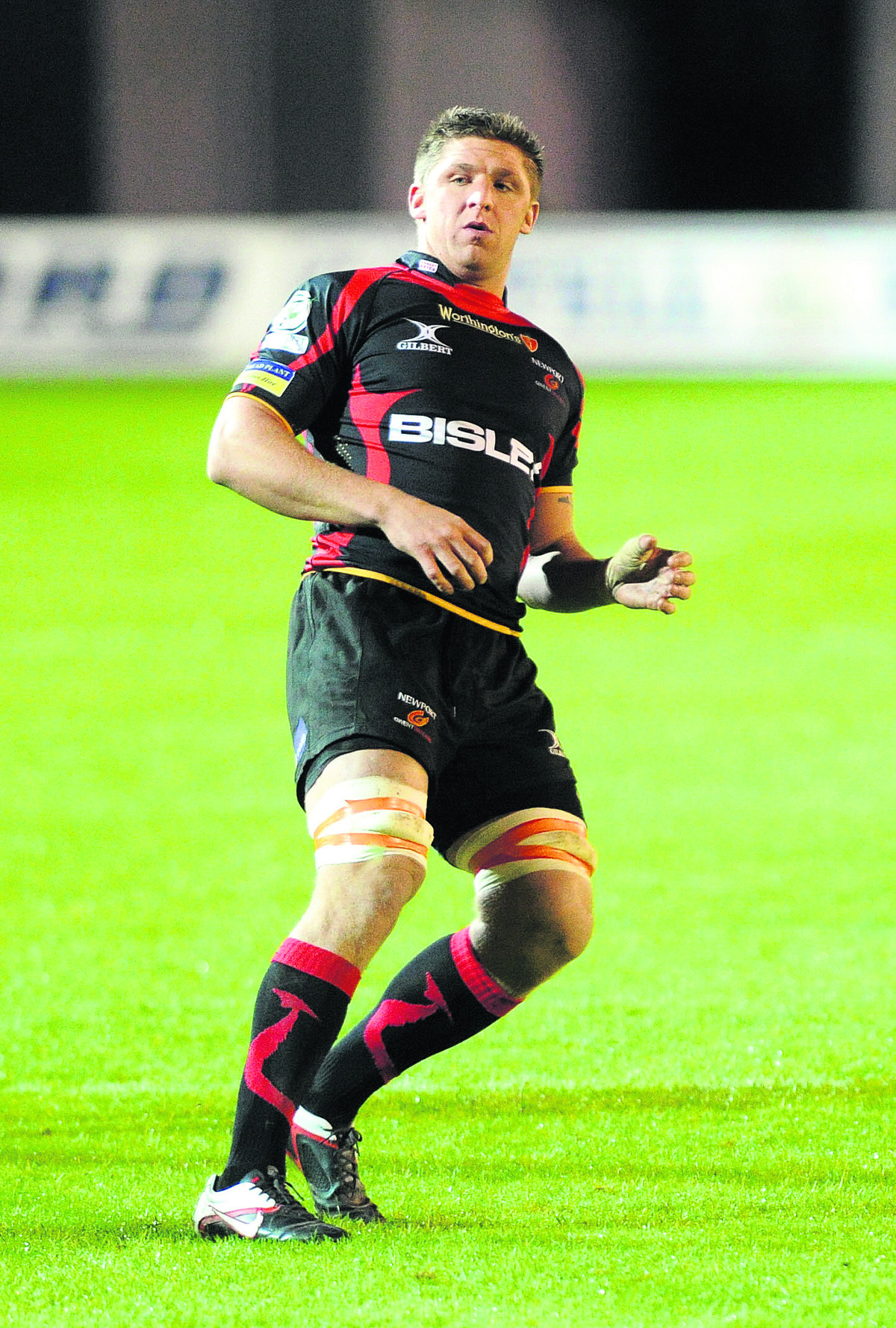 London Welsh's latest capture, Darren Waters, says he can't wait for their Aviva Premiership campaign to get started after signing from Newport Gwent Dragons