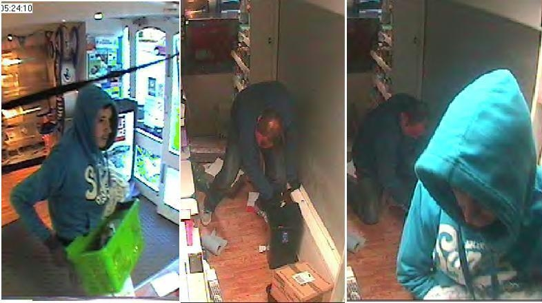 CCTV: Two men wanted for Banbury shop cigarette raid