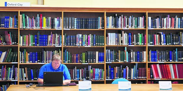 The Oxford Times: SEARCHING: The Family History Society helps those looking for their family's history