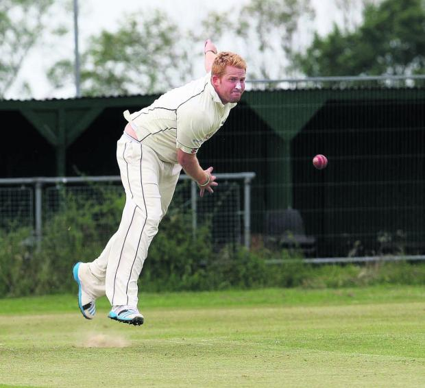 Pat Foster took seven wickets Horspath pipped Amersham