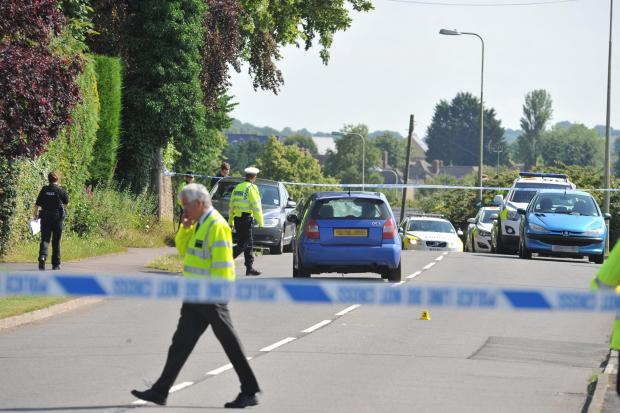 The Oxford Times: Serious collision between car and three pedestrians closes road in Witney